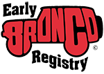 Early Bronco Registry